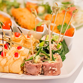 Catering Fingerfood by Melles & Stein